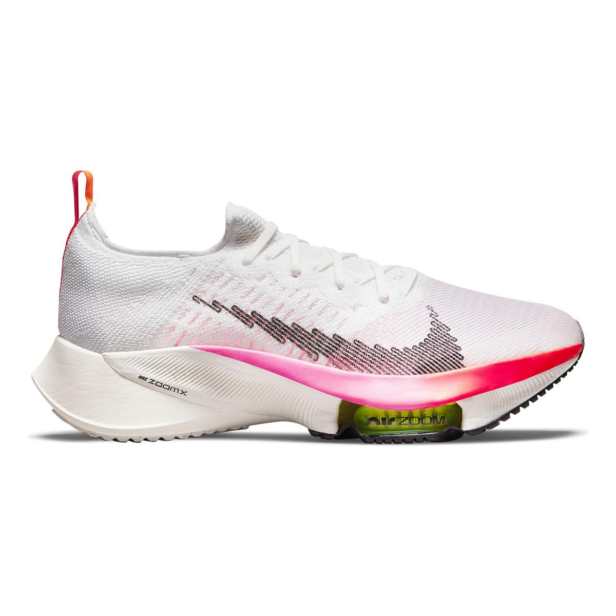 Men's Nike Air Zoom Tempo Next% Flyknit Running Shoe - Color: Rawdacious - Size: 6 - Width: Regular, Rawdacious, large, image 1