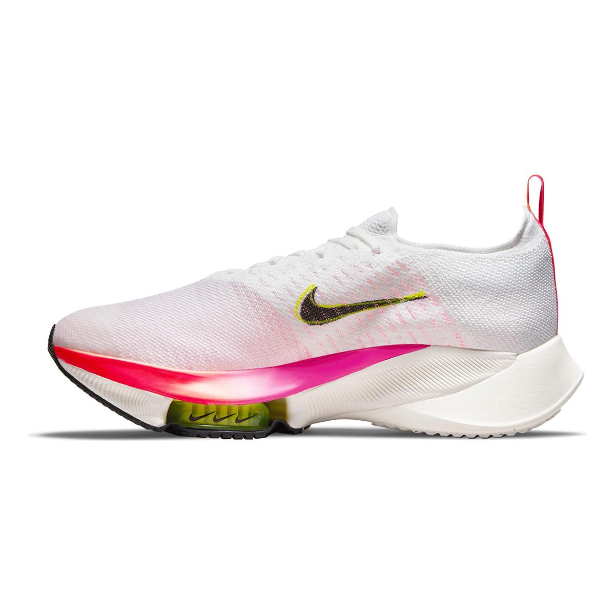 Men's Nike Air Zoom Tempo Next% Flyknit Running Shoe - Color: Rawdacious - Size: 6 - Width: Regular, Rawdacious, large, image 2