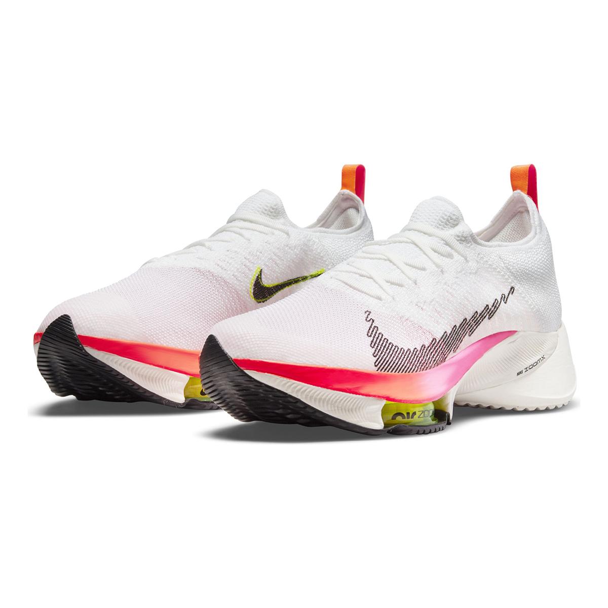 Men's Nike Air Zoom Tempo Next% Flyknit Running Shoe - Color: Rawdacious - Size: 6 - Width: Regular, Rawdacious, large, image 4