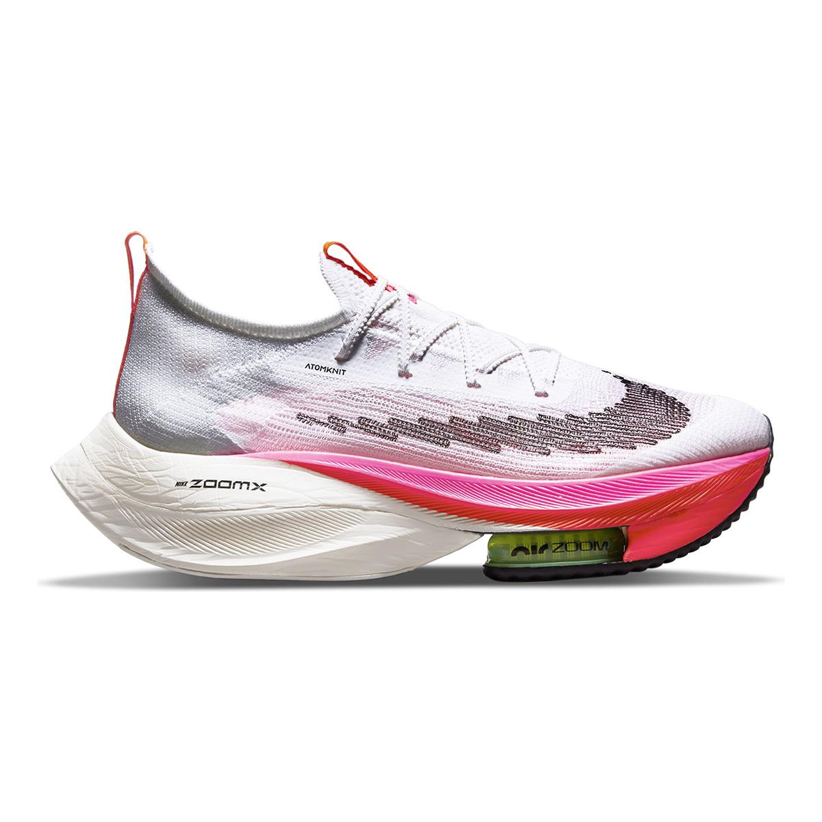 Men's Nike Air Zoom Alphafly Next% Flyknit Running Shoe - Color: Rawdacious - Size: 6 - Width: Regular, Rawdacious, large, image 1