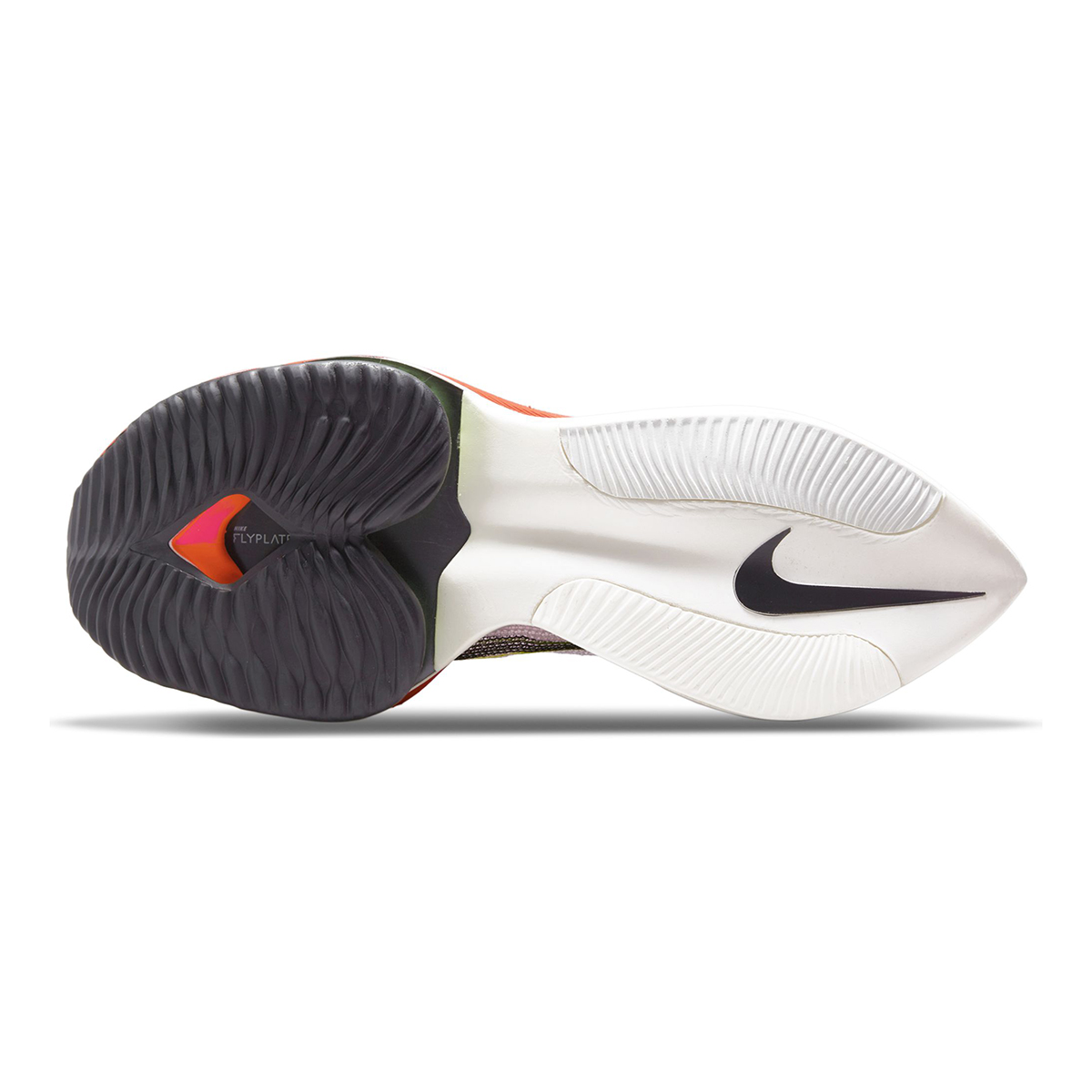 Men's Nike Air Zoom Alphafly Next% Flyknit Running Shoe - Color: Rawdacious - Size: 6 - Width: Regular, Rawdacious, large, image 3