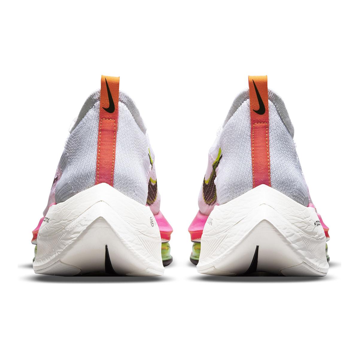 Men's Nike Air Zoom Alphafly Next% Flyknit Running Shoe - Color: Rawdacious - Size: 6 - Width: Regular, Rawdacious, large, image 6