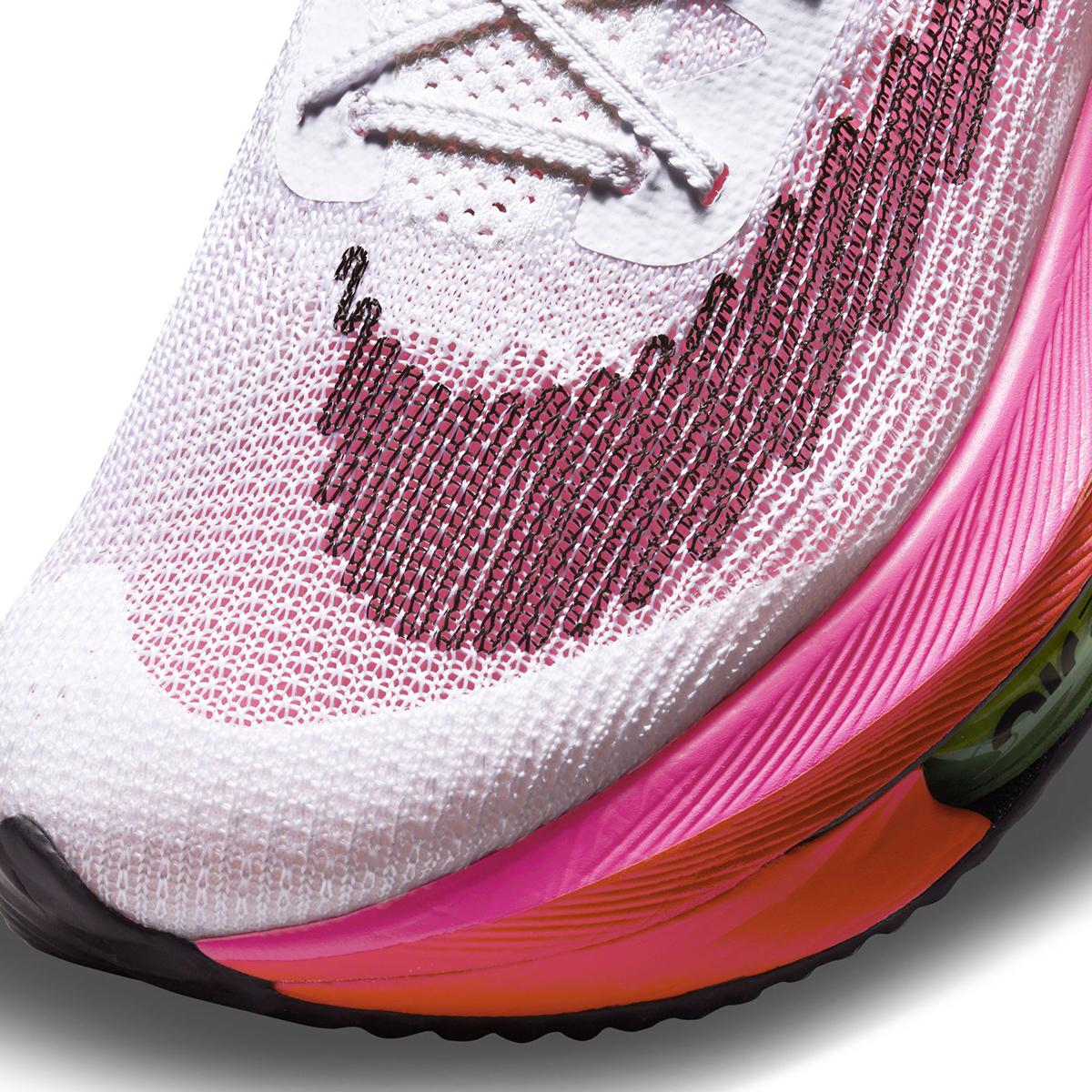 Men's Nike Air Zoom Alphafly Next% Flyknit Running Shoe - Color: Rawdacious - Size: 6 - Width: Regular, Rawdacious, large, image 7