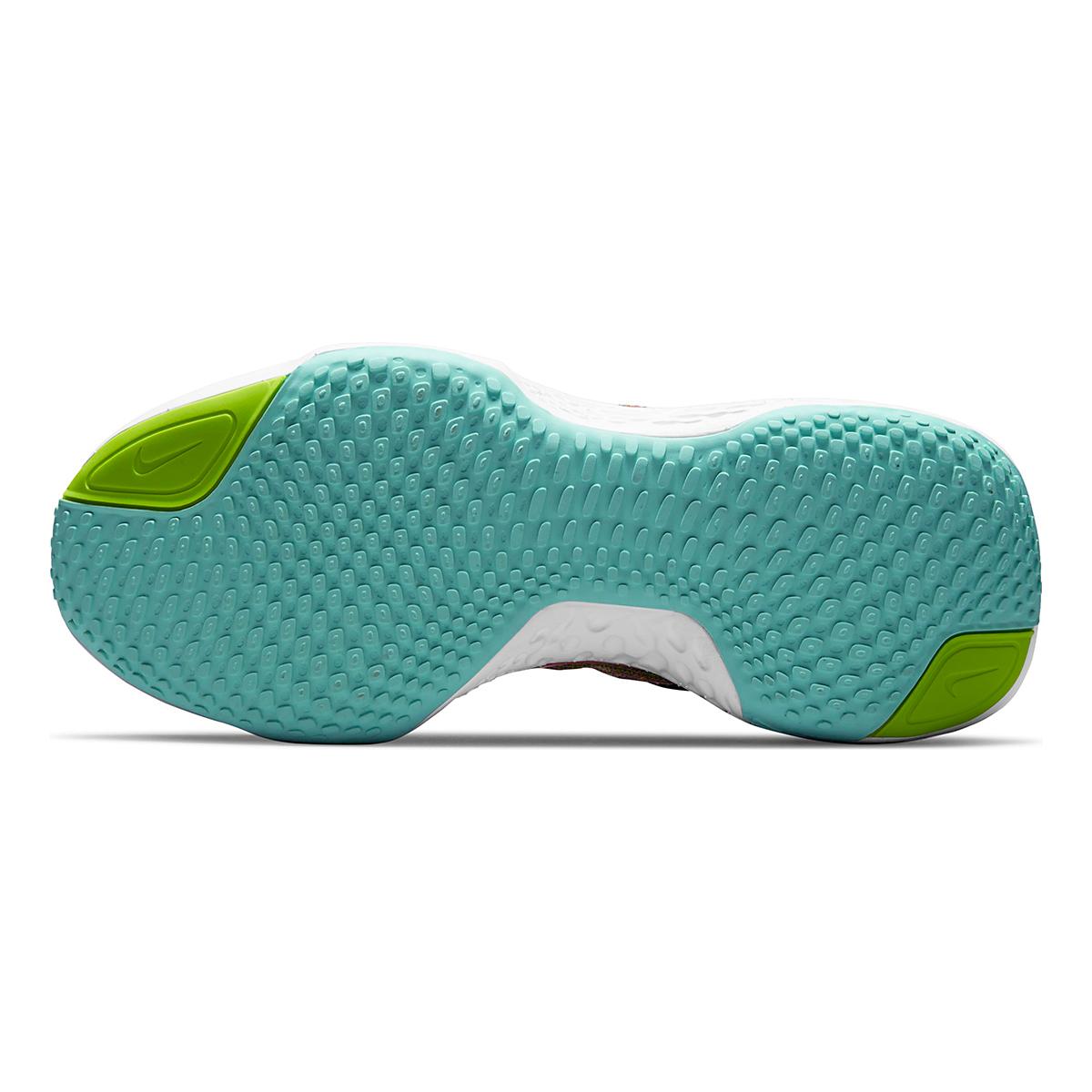 Women's Nike Zoomx Invincible Run FlyKnit Running Shoe - Color: Volt/Bright Mango/Black/Light Dew - Size: 5 - Width: Regular, Volt/Bright Mango/Black/Light Dew, large, image 6