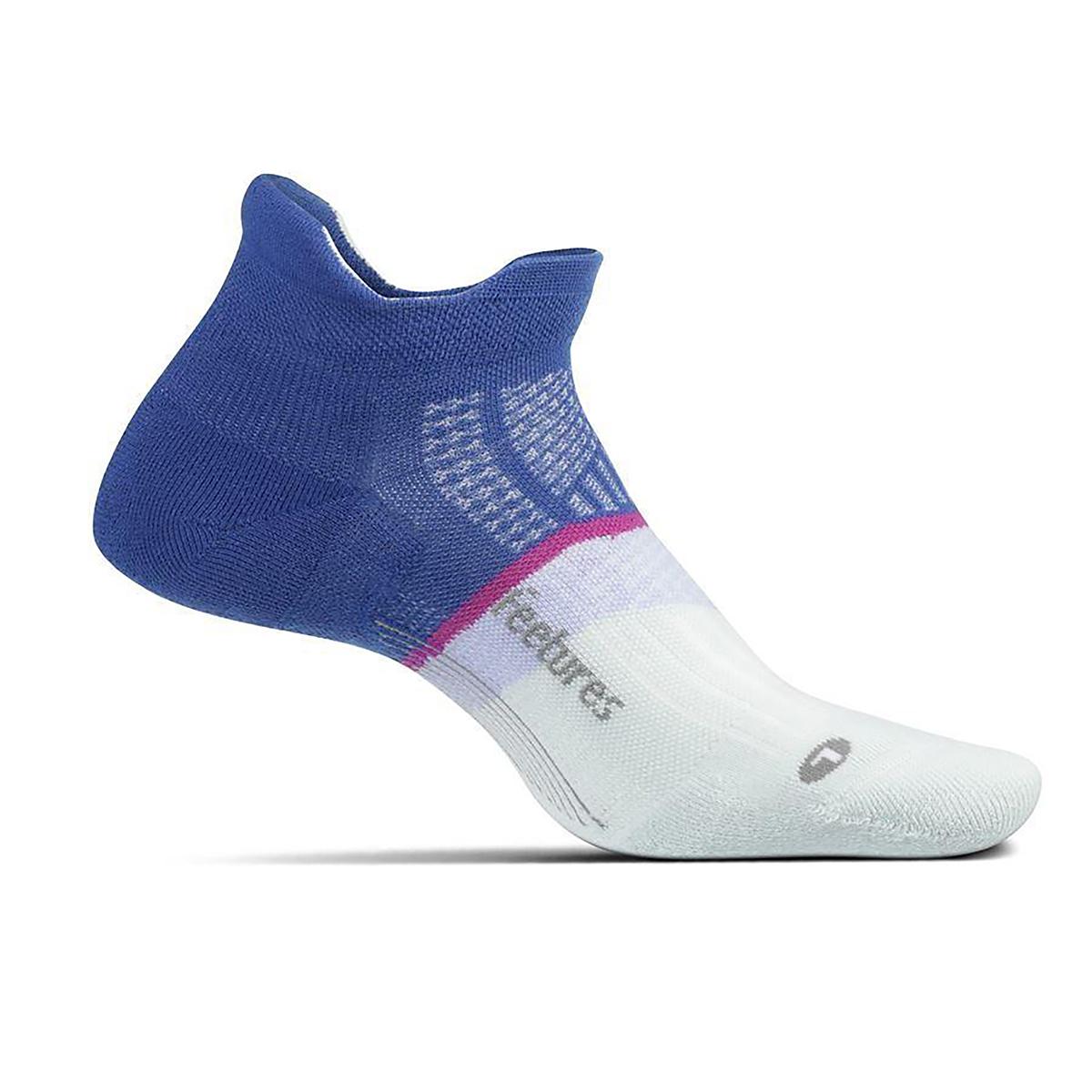 Feetures Elite Light Cushion No Show Tab Socks - Color: Blue Moon - Size: S, Blue Moon, large, image 1