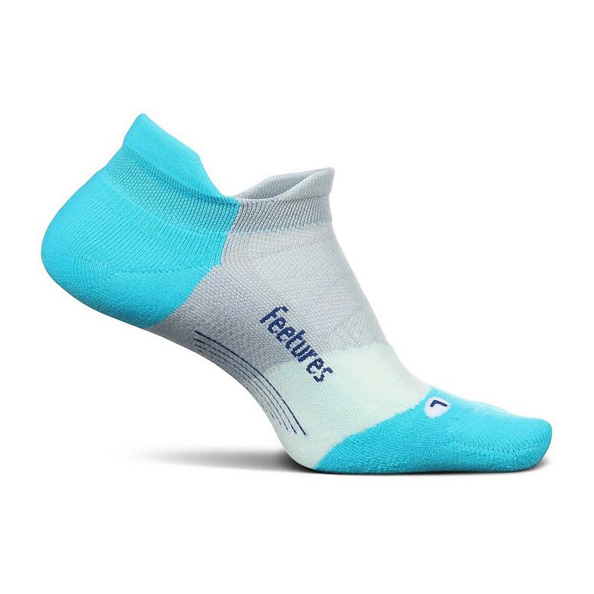 Feetures Elite Light Cushion No Show Sock - Color: A.I. Aqua - Size: S, A.I. Aqua, large, image 1