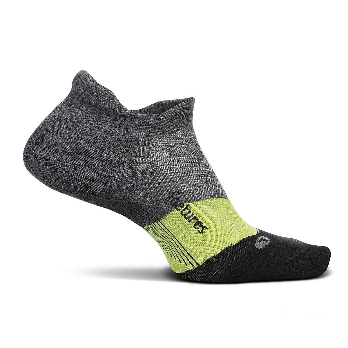 Feetures Elite Light Cushion No Show Sock - Color: Night Vision - Size: S, Night Vision, large, image 1