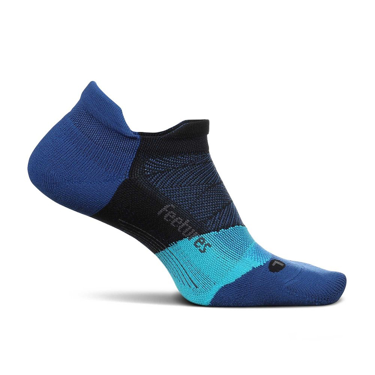 Feetures Elite Light Cushion No Show Sock - Color: Oceanic - Size: S, Oceanic, large, image 1