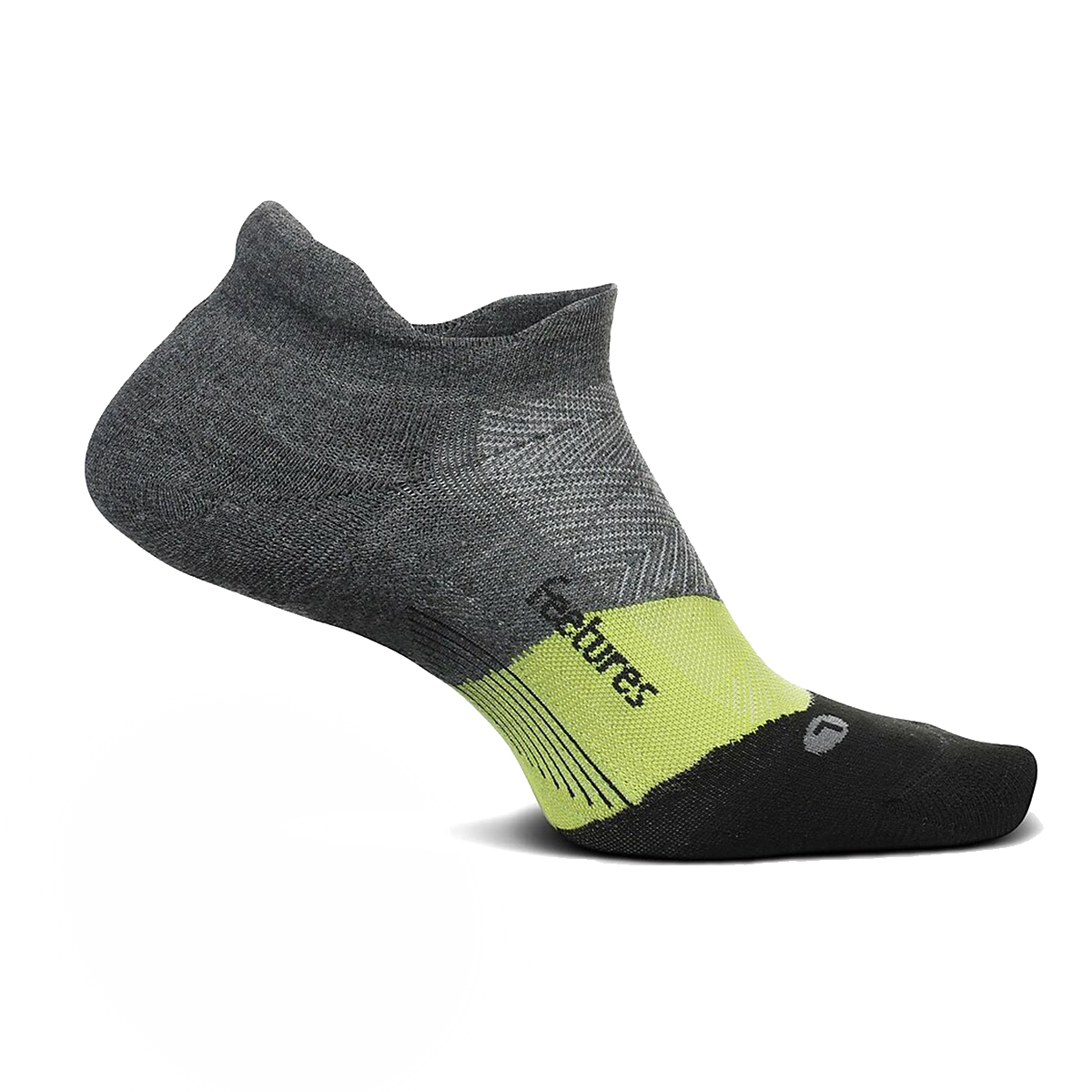 Feetures Elite Ultra Light No Show Sock - Color: Night Vision - Size: S, Night Vision, large, image 1