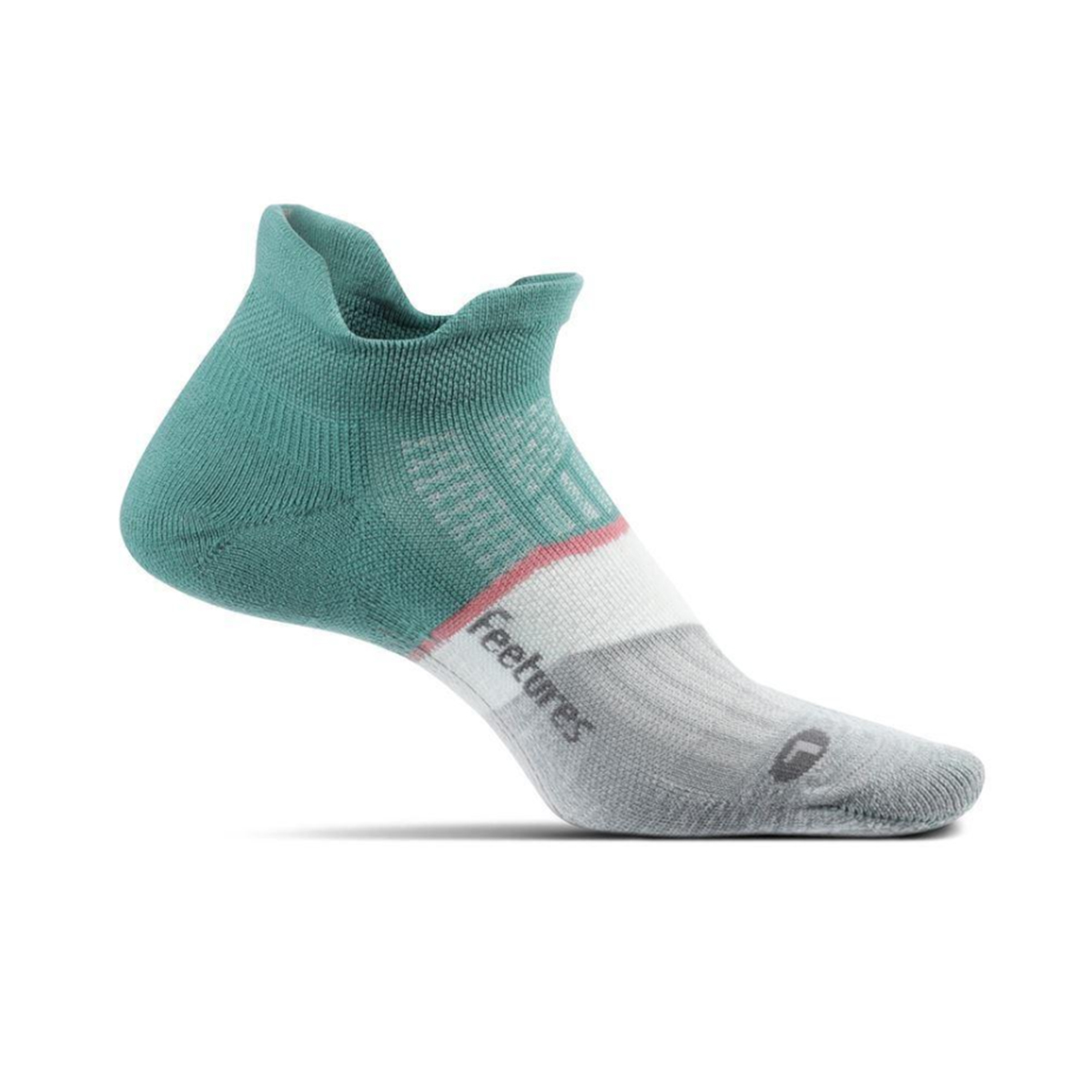 Feetures Elite Max Cushion No Show Tab Socks - Color: Soft Moss - Size: S, Soft Moss, large, image 1