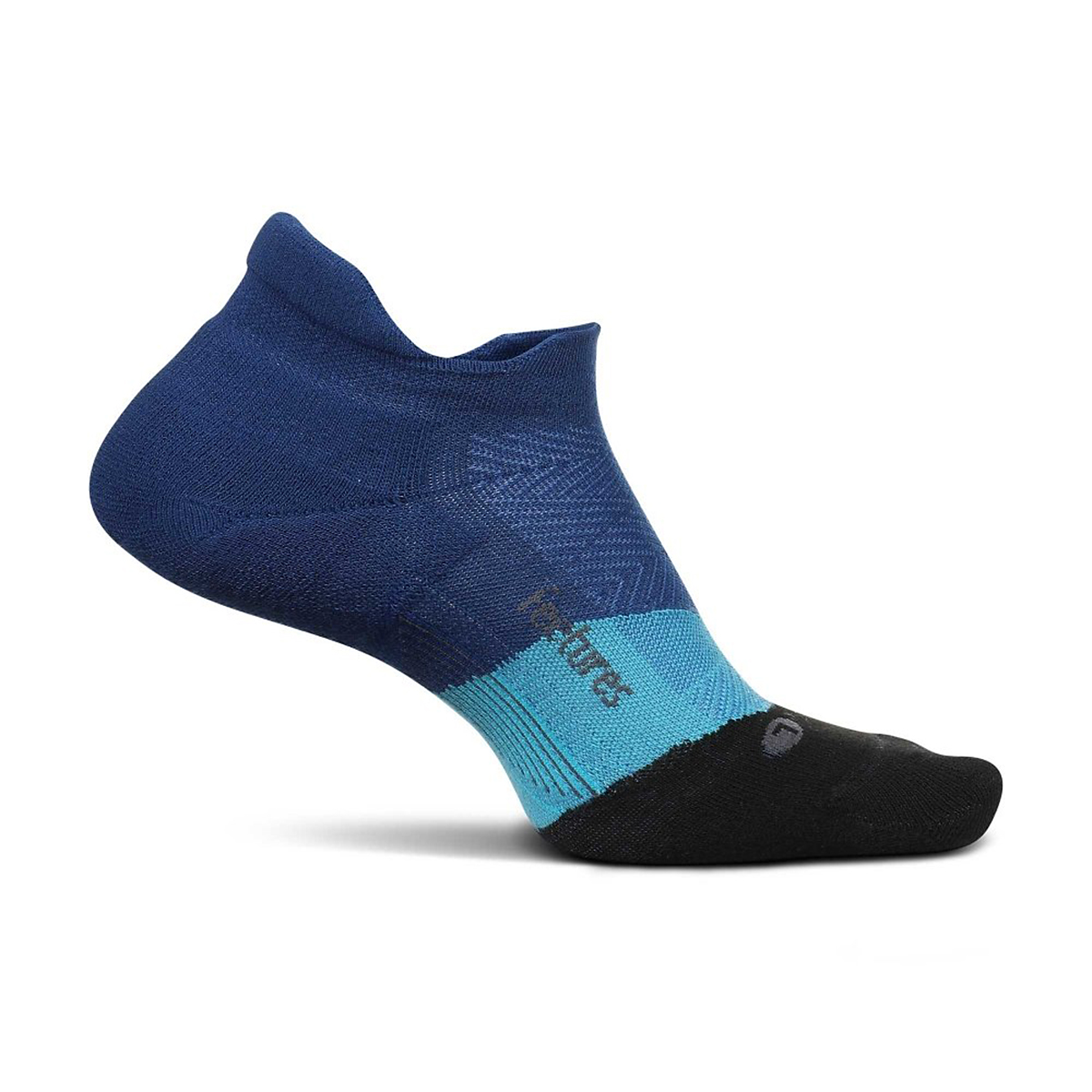 Feetures Elite Max Cushion No Show Sock - Color: Oceanic - Size: S, Oceanic, large, image 1