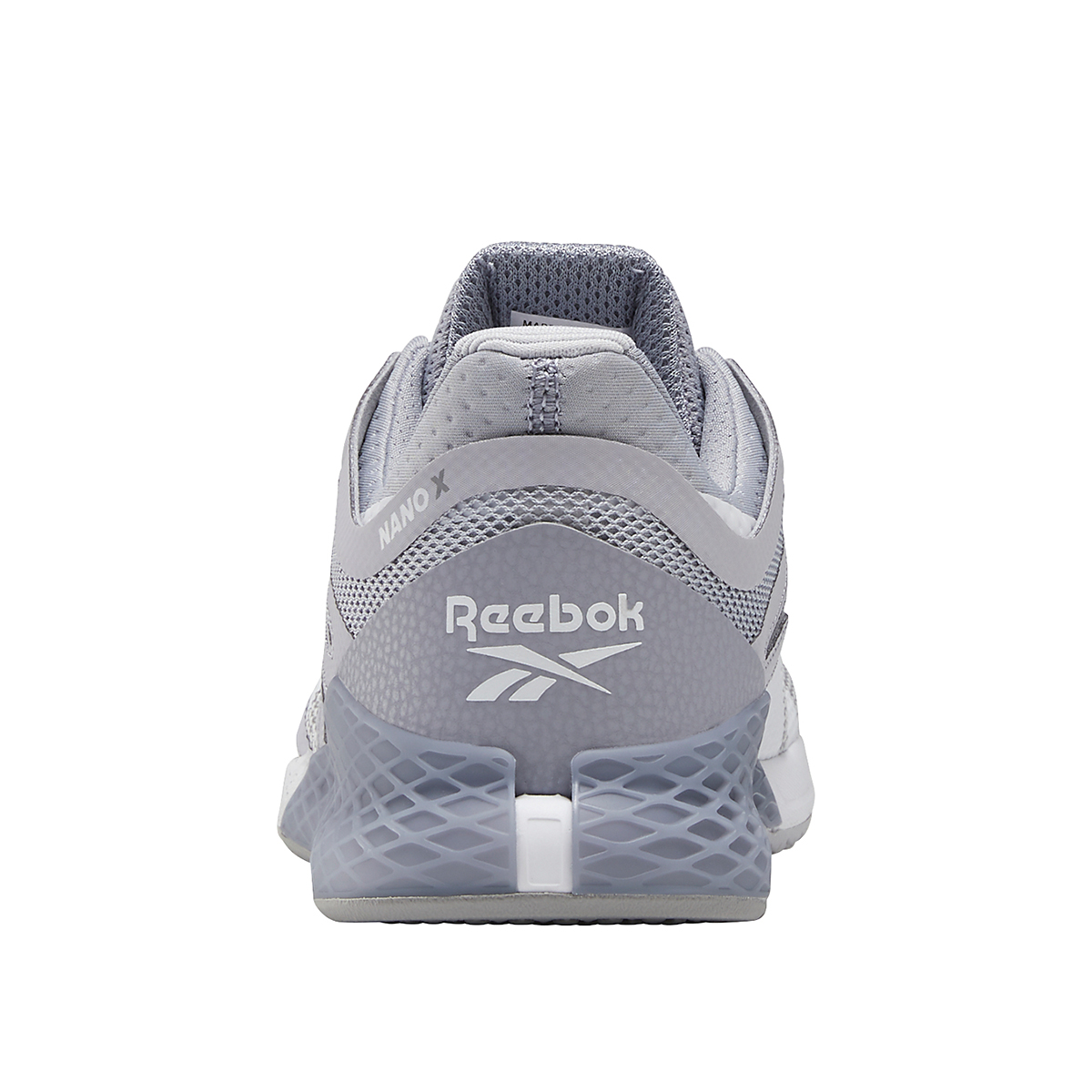 Women's Reebok Nano X Training Shoe - Color: Cold Grey/Cool Shadow/White - Size: 5 - Width: Regular, Cold Grey/Cool Shadow/White, large, image 6