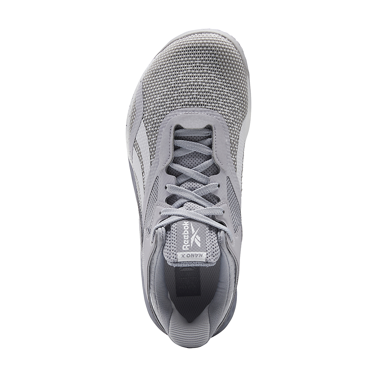 Women's Reebok Nano X Training Shoe - Color: Cold Grey/Cool Shadow/White - Size: 5 - Width: Regular, Cold Grey/Cool Shadow/White, large, image 7