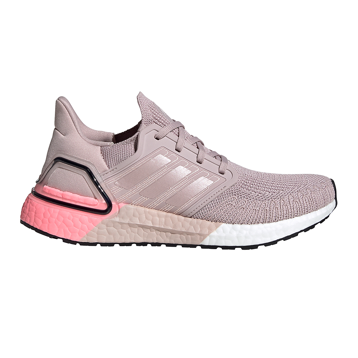 Women's Adidas Ultraboost 20 Running Shoe - Color: New Rose - Size: 5 - Width: Regular, New Rose, large, image 1
