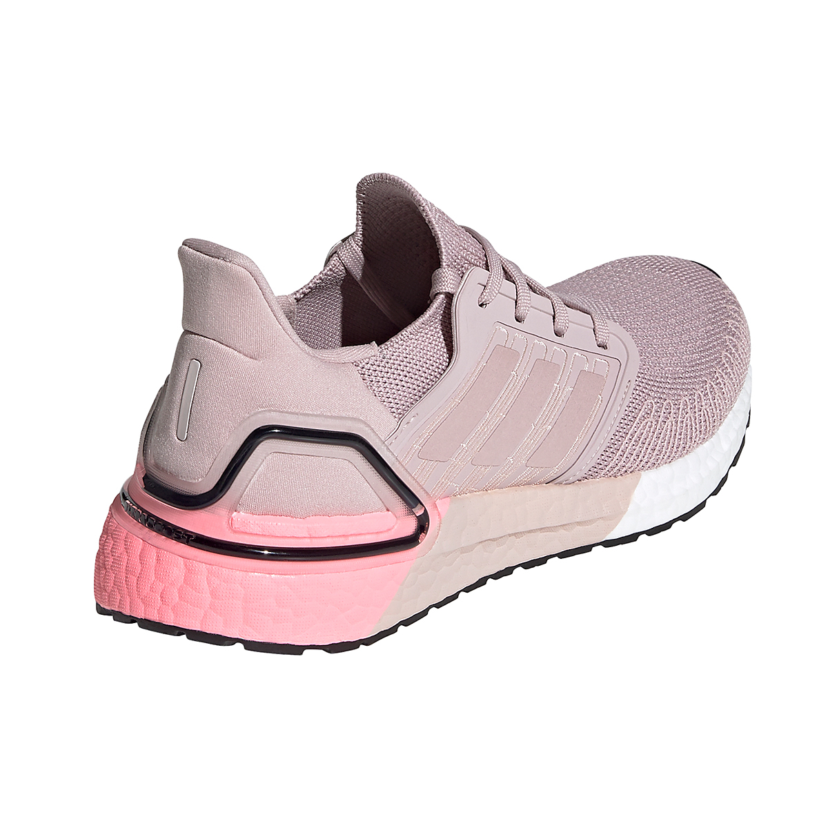 Women's Adidas Ultraboost 20 Running Shoe - Color: New Rose - Size: 5 - Width: Regular, New Rose, large, image 2