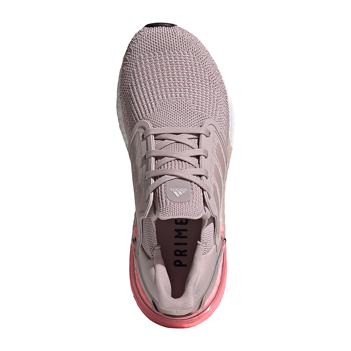 Women's Adidas Ultraboost 20 Running Shoe - Color: New Rose - Size: 5 - Width: Regular, New Rose, large, image 3