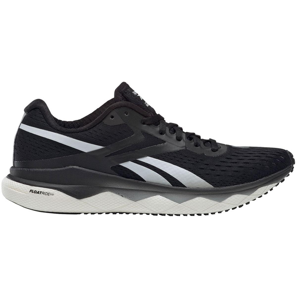 Women's Reebok Floatride Run Fast 2.0 Running Shoe - Color: Black/Pure Grey 3/White (Regular Width) - Size: 5, Black/Pure Grey 3/White, large, image 1