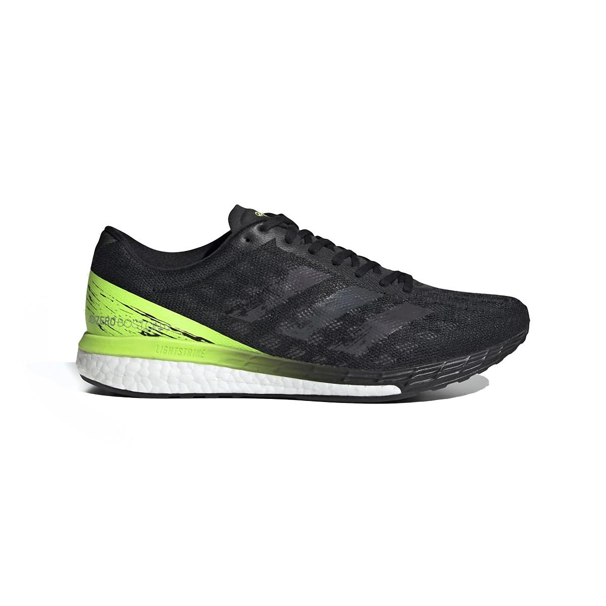 Men's Adidas Adizero Boston 9 Running Shoe - Color: Core Black/Core - Size: 6.5 - Width: Regular, Core Black/Core, large, image 1