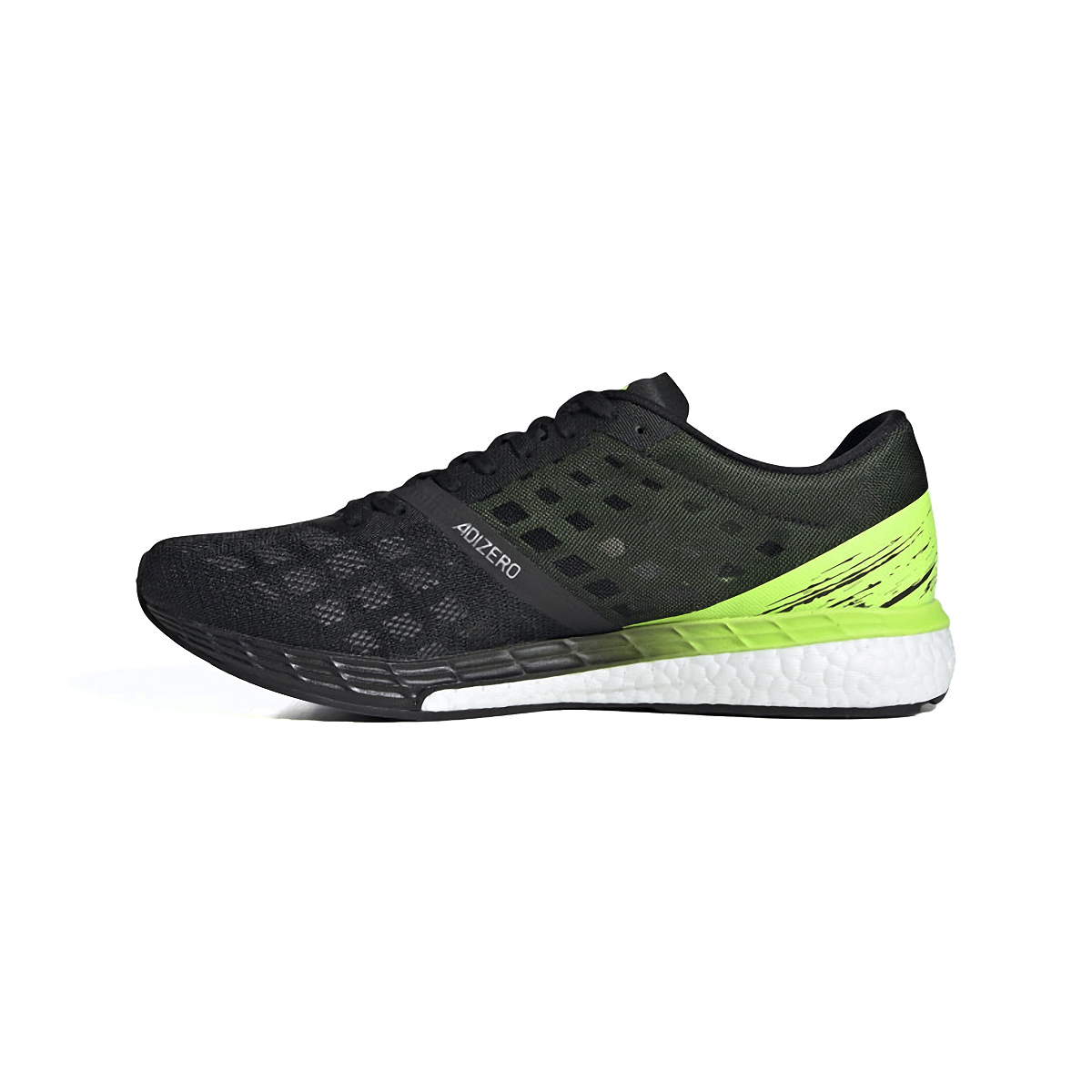 Men's Adidas Adizero Boston 9 Running Shoe - Color: Core Black/Core - Size: 6.5 - Width: Regular, Core Black/Core, large, image 2