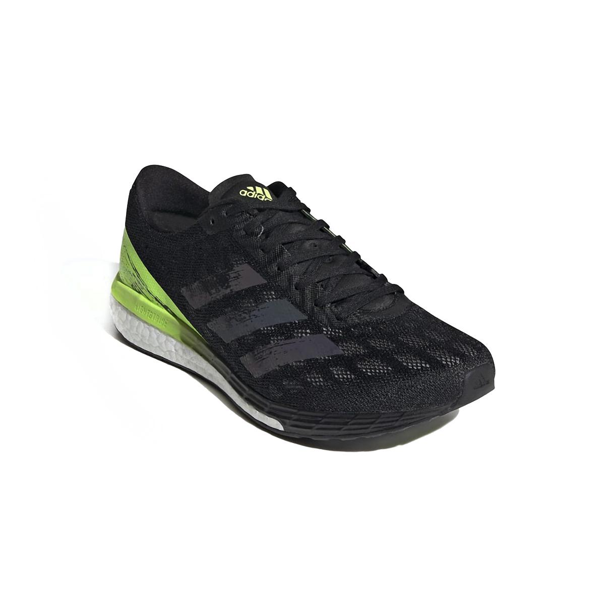 Men's Adidas Adizero Boston 9 Running Shoe - Color: Core Black/Core - Size: 6.5 - Width: Regular, Core Black/Core, large, image 4