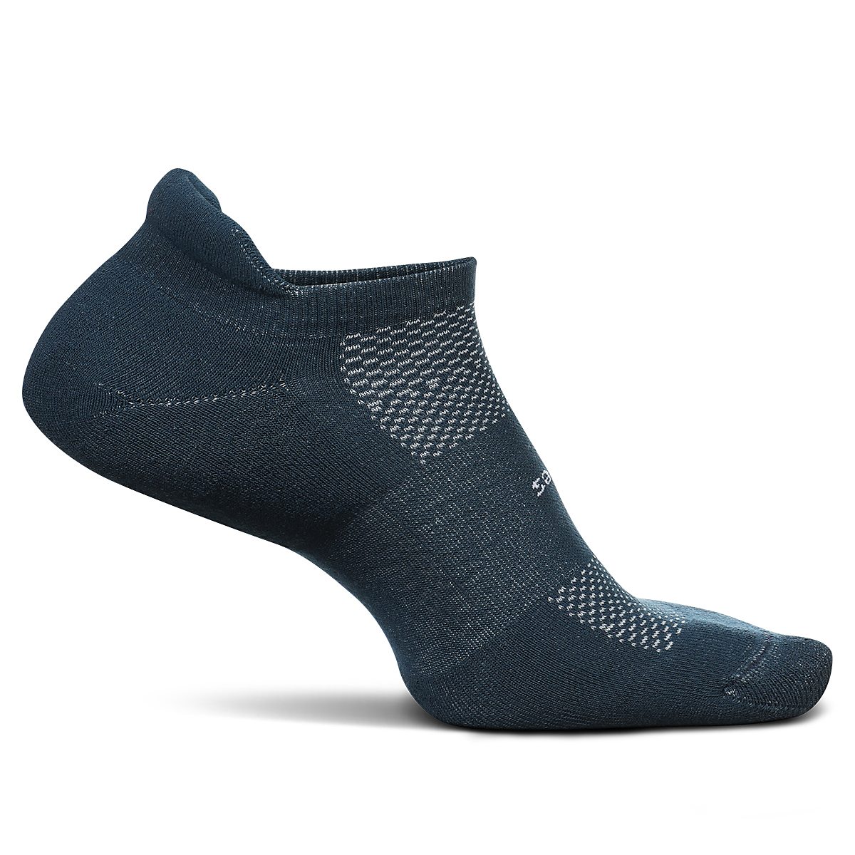 Feetures High Performance Cushion No Show Tab Socks - Color: French Navy - Size: S, French Navy, large, image 1