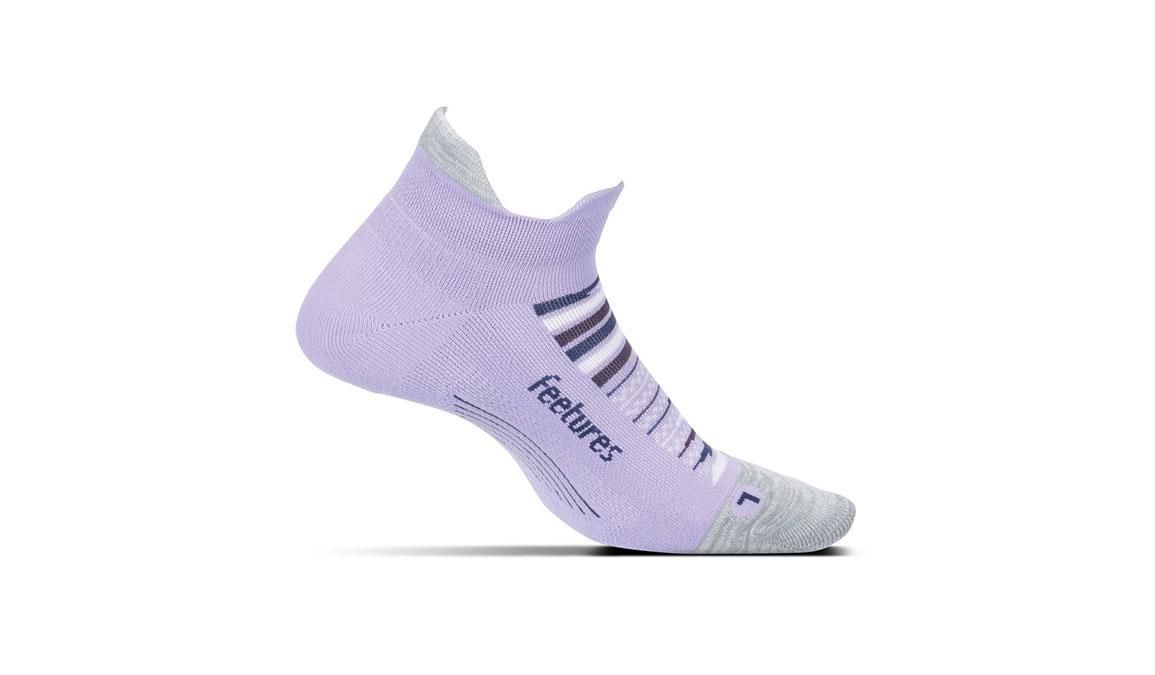 Feetures Elite Light Cushion No Show Tab Socks - Color: Purple Horizon Size: S, Purple Multi, large, image 1