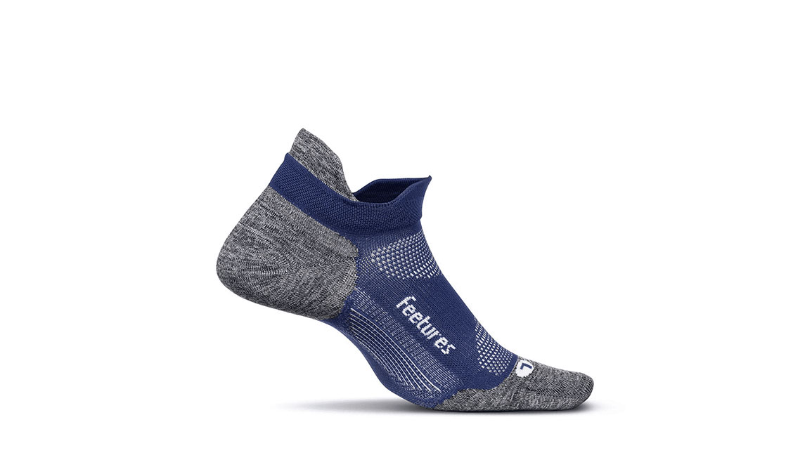 Feetures Elite Ultra Light No Show Tab Socks - Color: Sapphire Size: M, Blue, large, image 1