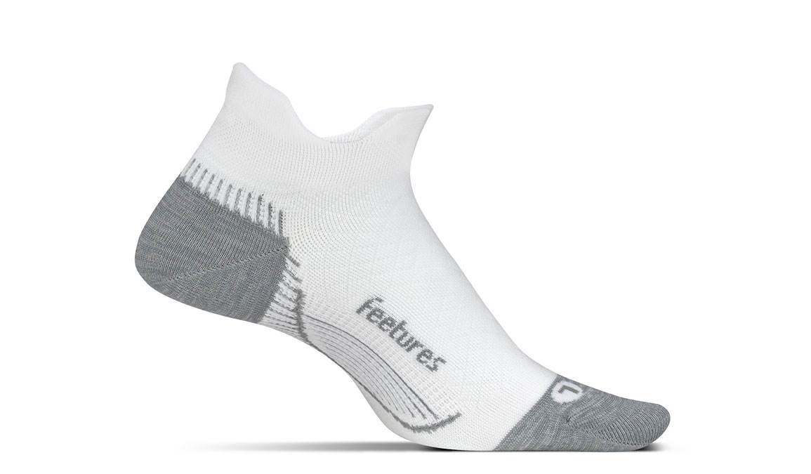 Feetures PF Relief Ultra Light No Show Tab Sock - Color: White Size: M, White, large, image 1