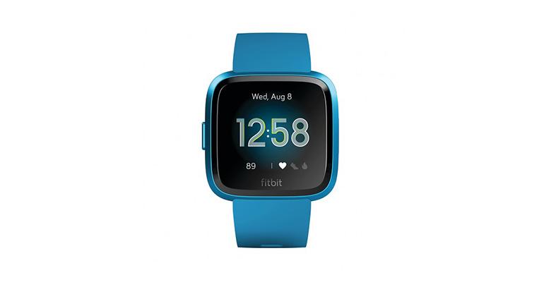 Fitbit Versa Lite - Color: Marina Blue/Marina Blue Aluminum Size: OS - CT, Marina Blue/Marina Blue Aluminum, large, image 1
