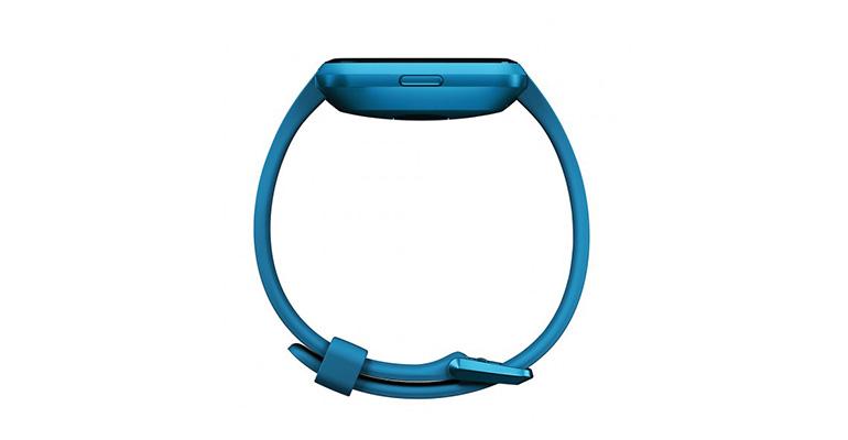 Fitbit Versa Lite - Color: Marina Blue/Marina Blue Aluminum Size: OS - CT, Marina Blue/Marina Blue Aluminum, large, image 4