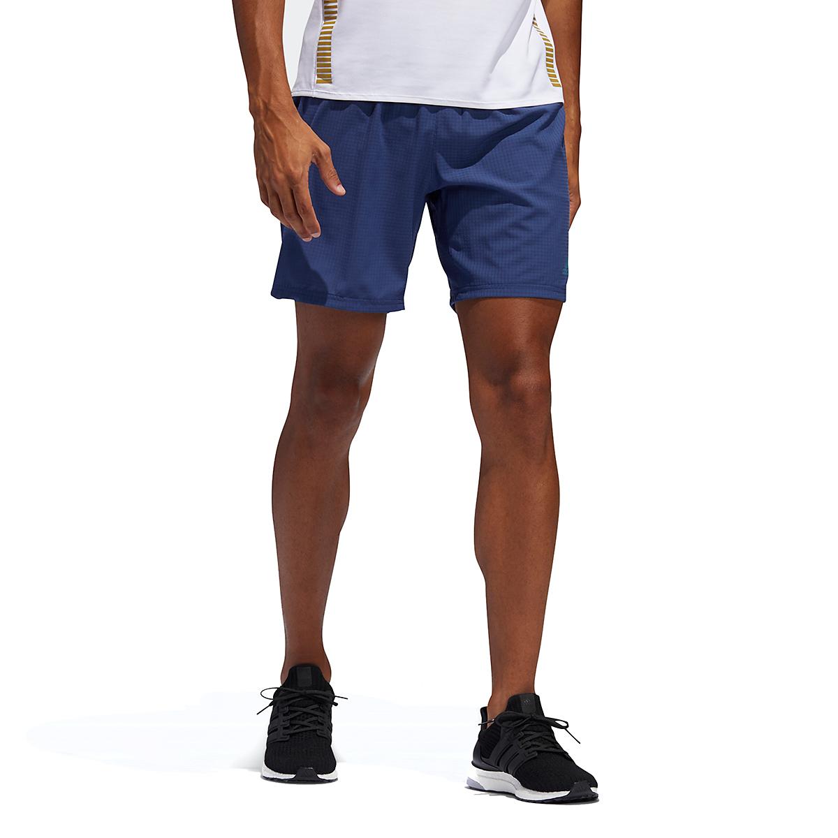 Men's Adidas Saturday Shorts - Color: Indigo - Size: M, Indigo, large, image 1
