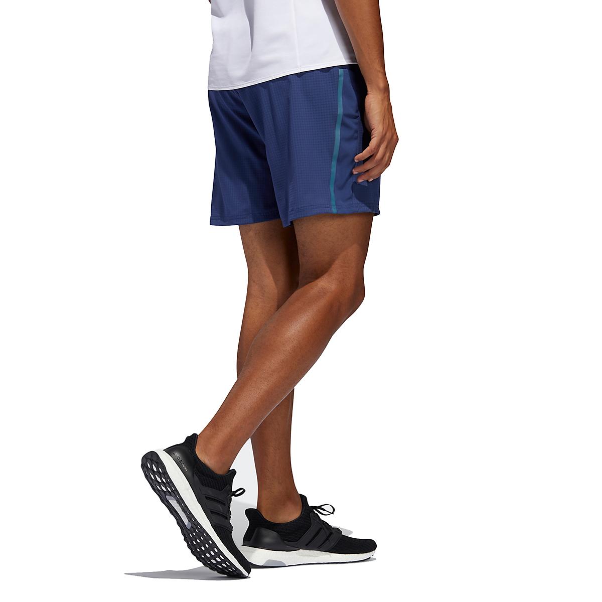 Men's Adidas Saturday Shorts - Color: Indigo - Size: M, Indigo, large, image 2