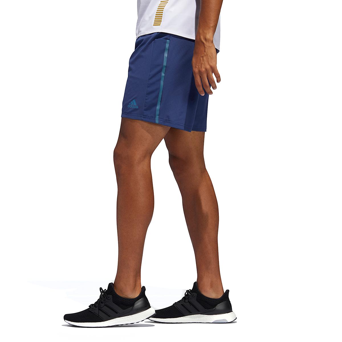 Men's Adidas Saturday Shorts - Color: Indigo - Size: M, Indigo, large, image 3