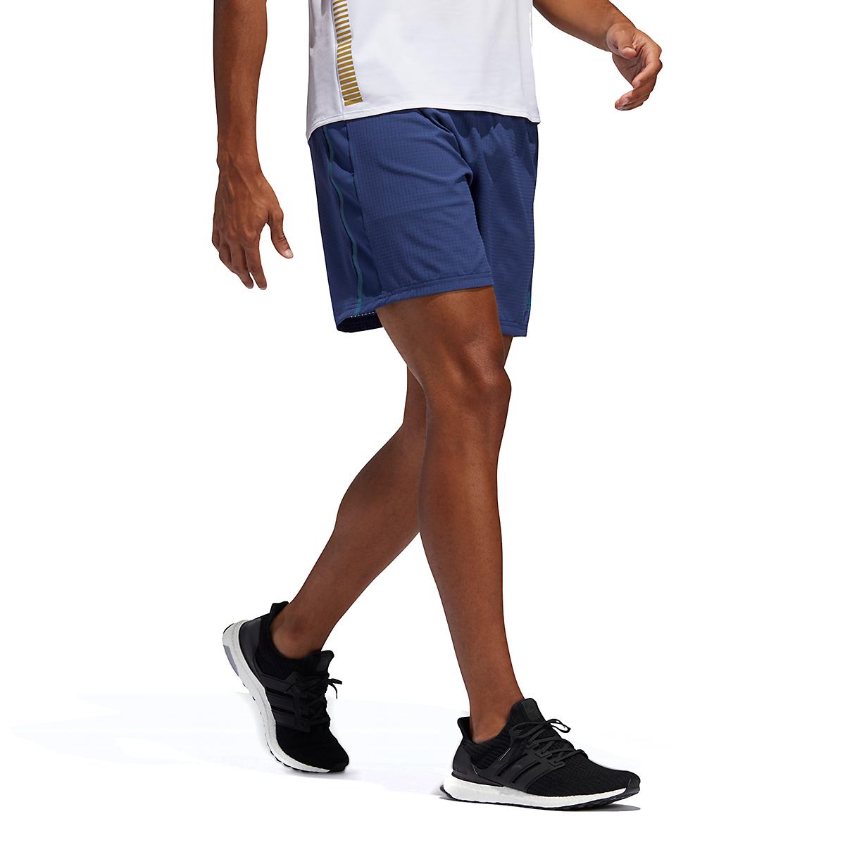Men's Adidas Saturday Shorts - Color: Indigo - Size: M, Indigo, large, image 4