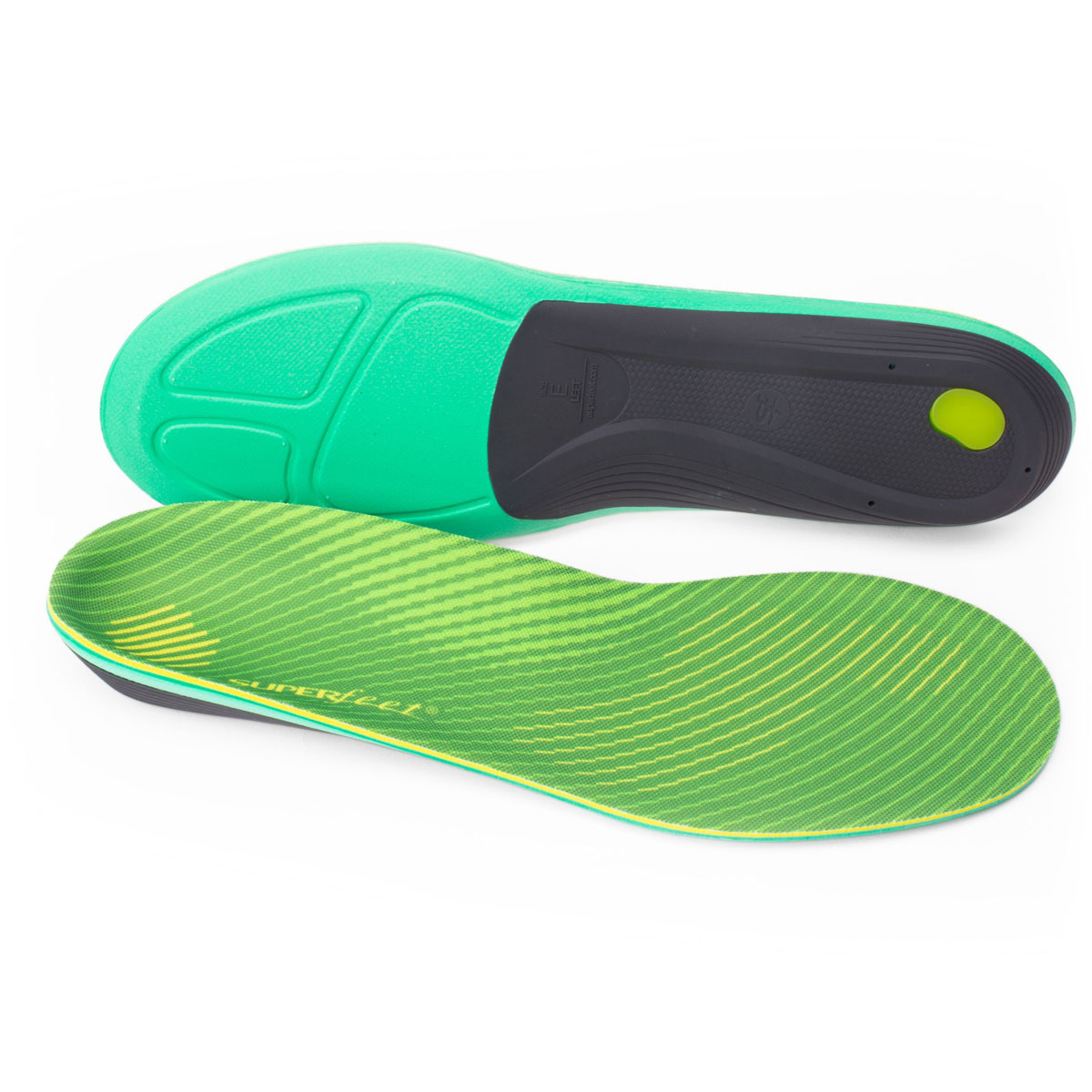 Superfeet RUN Comfort Max - Color: Citron Size: E, Citron, large, image 1