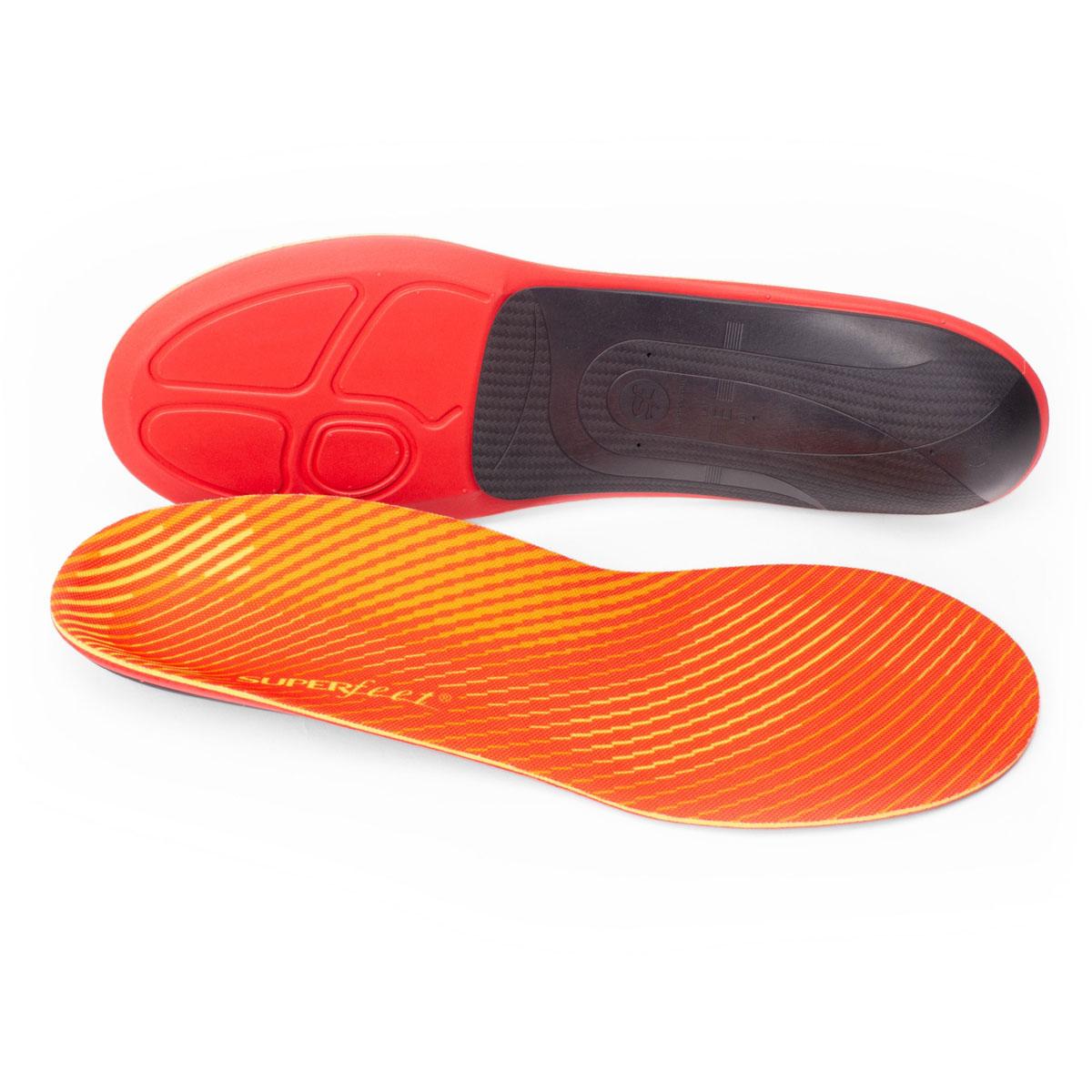 Superfeet RUN Pain Relief - Color: Tangerine Size: C, Tangerine, large, image 1