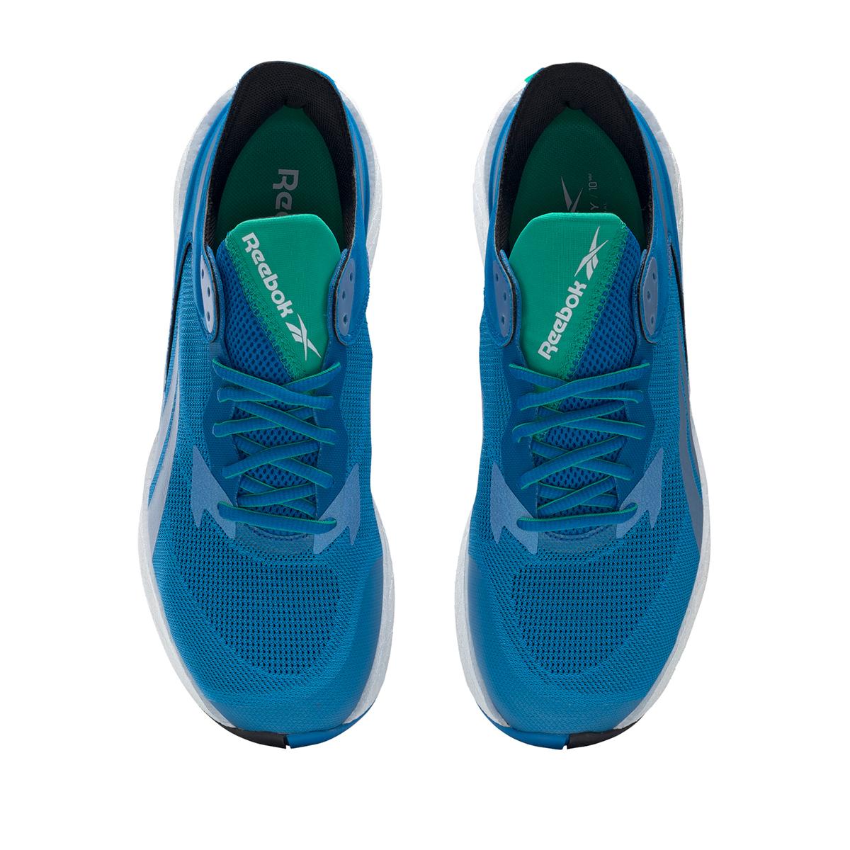Men's Reebok Floatride Energy Symmetros Running Shoe - Color: Dynamic Blue/Horizon Blue/Court Green - Size: 7 - Width: Regular, Dynamic Blue/Horizon Blue/Court Green, large, image 5