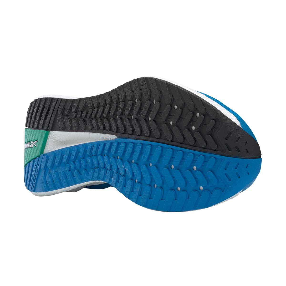 Men's Reebok Floatride Energy Symmetros Running Shoe - Color: Dynamic Blue/Horizon Blue/Court Green - Size: 7 - Width: Regular, Dynamic Blue/Horizon Blue/Court Green, large, image 6