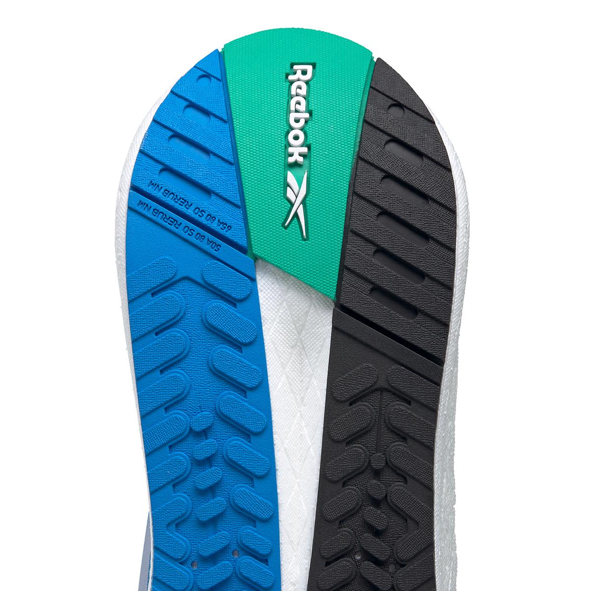 Men's Reebok Floatride Energy Symmetros Running Shoe - Color: Dynamic Blue/Horizon Blue/Court Green - Size: 7 - Width: Regular, Dynamic Blue/Horizon Blue/Court Green, large, image 7