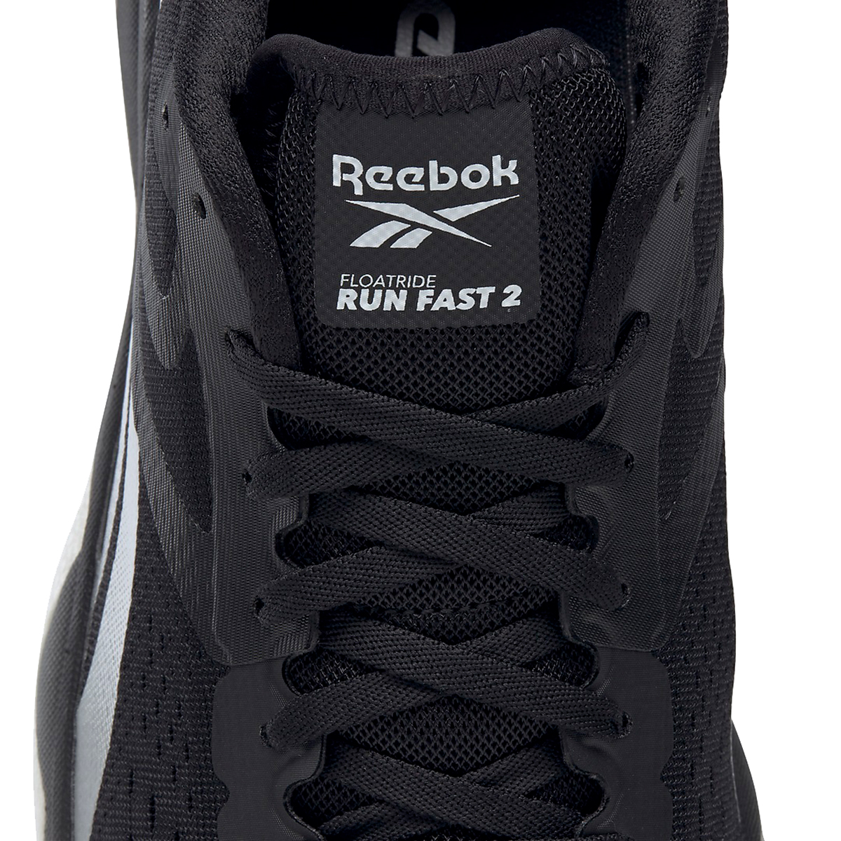 Men's Reebok Floatride Run Fast 2.0 Running Shoe - Color: Black/Pure Grey - Size: 7 - Width: Regular, Black/Pure Grey, large, image 4