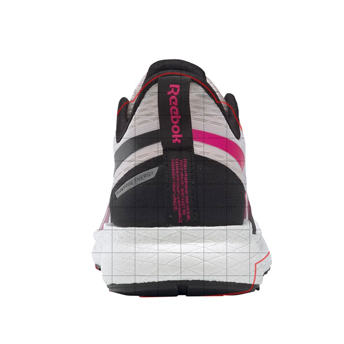 Women's Reebok Forever Floatride Energy 2.0 Running Shoe - Color: Glass Pink/Black/Proud Pink - Size: 5 - Width: Regular, Glass Pink/Black/Proud Pink, large, image 4