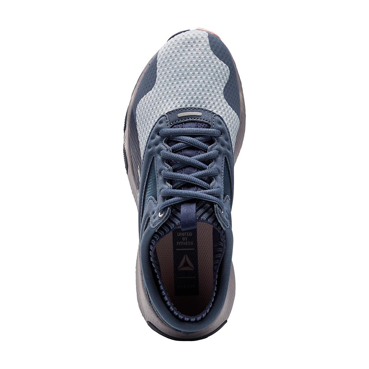 Women's Reebok HIIT Training Shoe - Color: Smoky Indigo/Meteor Grey/White - Size: 5 - Width: Regular, Smoky Indigo/Meteor Grey/White, large, image 3