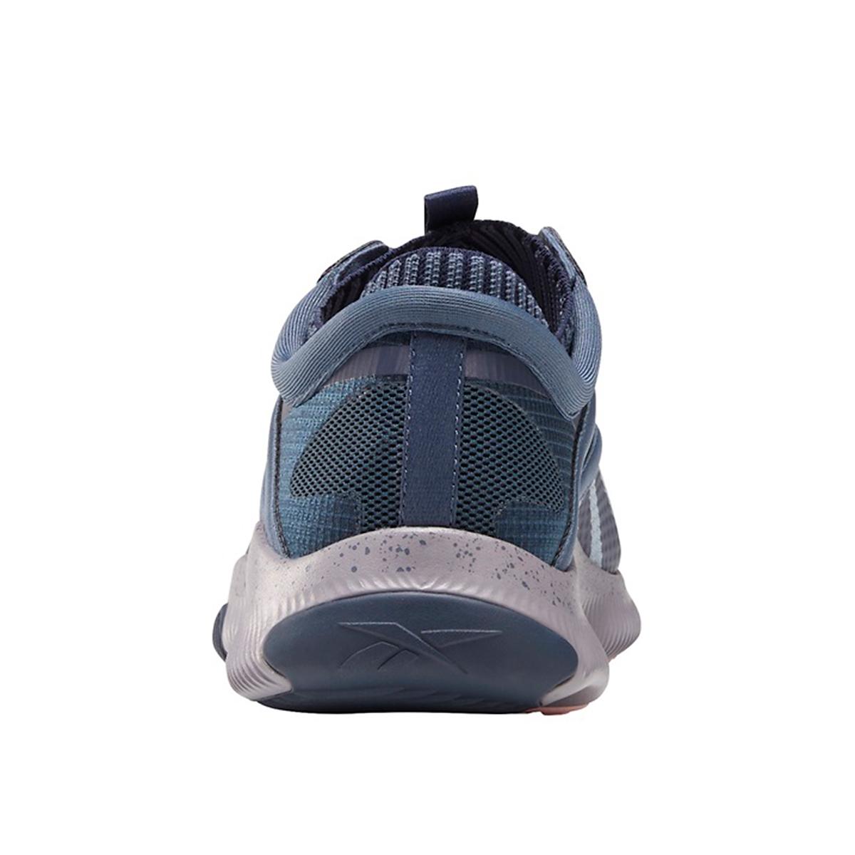 Women's Reebok HIIT Training Shoe - Color: Smoky Indigo/Meteor Grey/White - Size: 5 - Width: Regular, Smoky Indigo/Meteor Grey/White, large, image 4