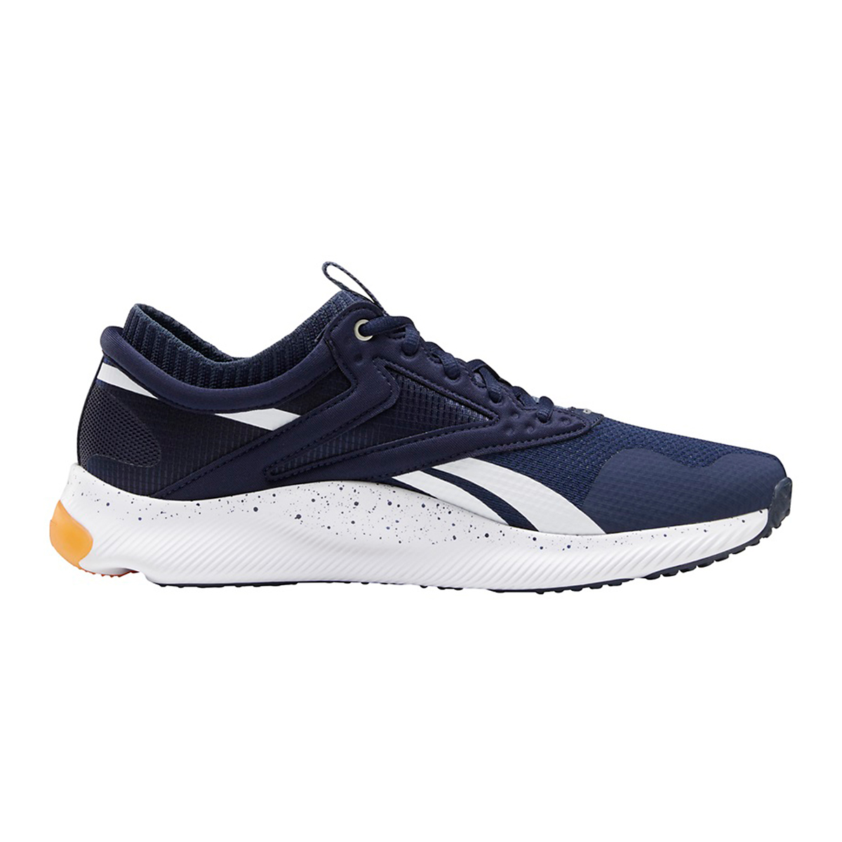 Men's Reebok HIIT Running Shoe - Color: Vector Navy/White - Size: 6 - Width: Regular, Vector Navy/White, large, image 1
