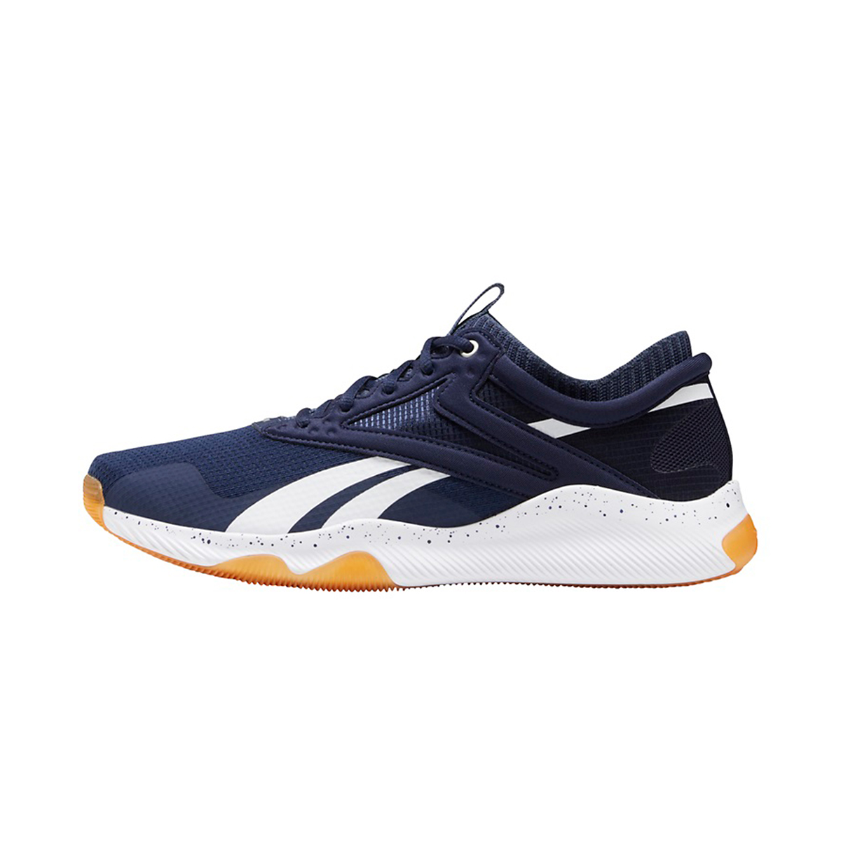 Men's Reebok HIIT Running Shoe - Color: Vector Navy/White - Size: 6 - Width: Regular, Vector Navy/White, large, image 2