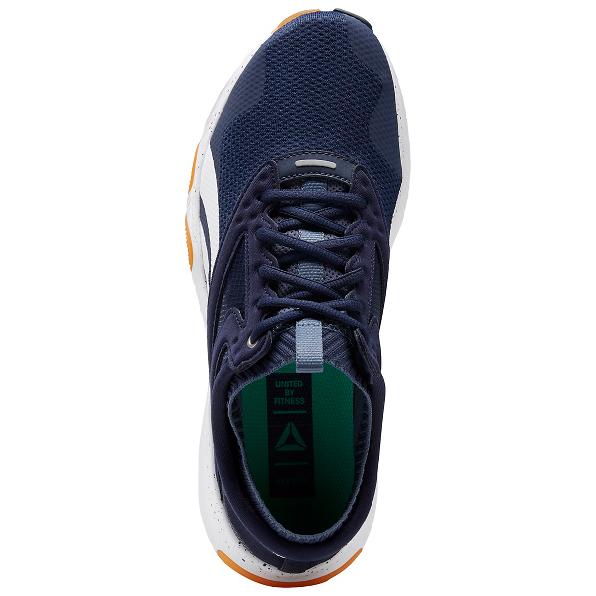 Men's Reebok HIIT Running Shoe - Color: Vector Navy/White - Size: 6 - Width: Regular, Vector Navy/White, large, image 3