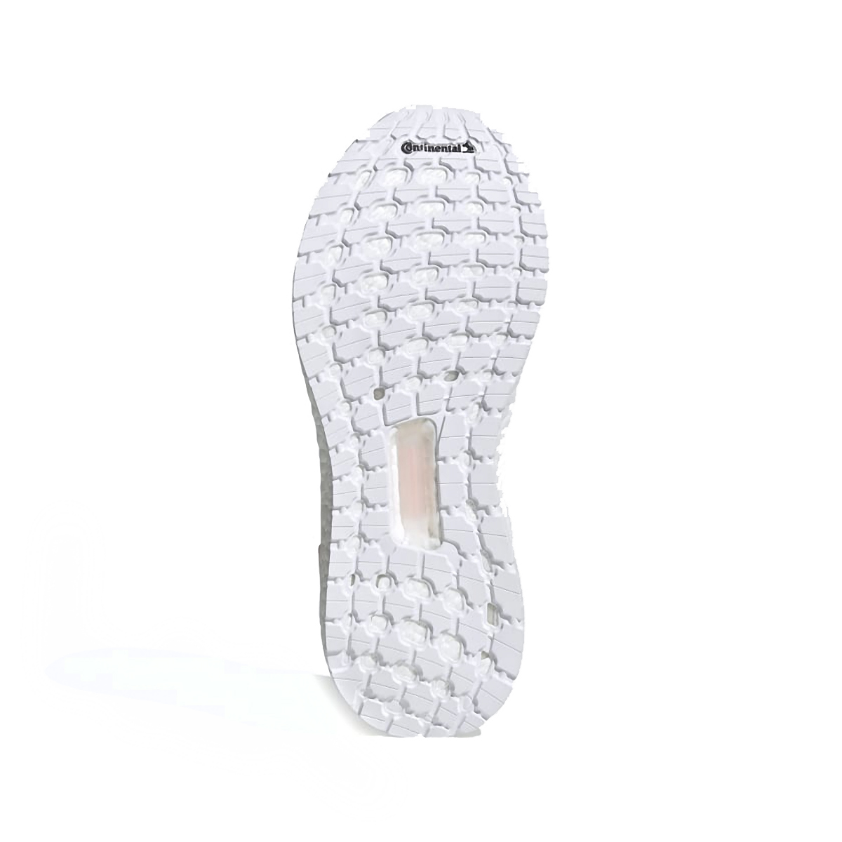 Women's Adidas Ultraboost 20 Running Shoe - Color: Vapour Pink/Cloud White - Size: 5 - Width: Regular, Vapour Pink/Cloud White, large, image 3