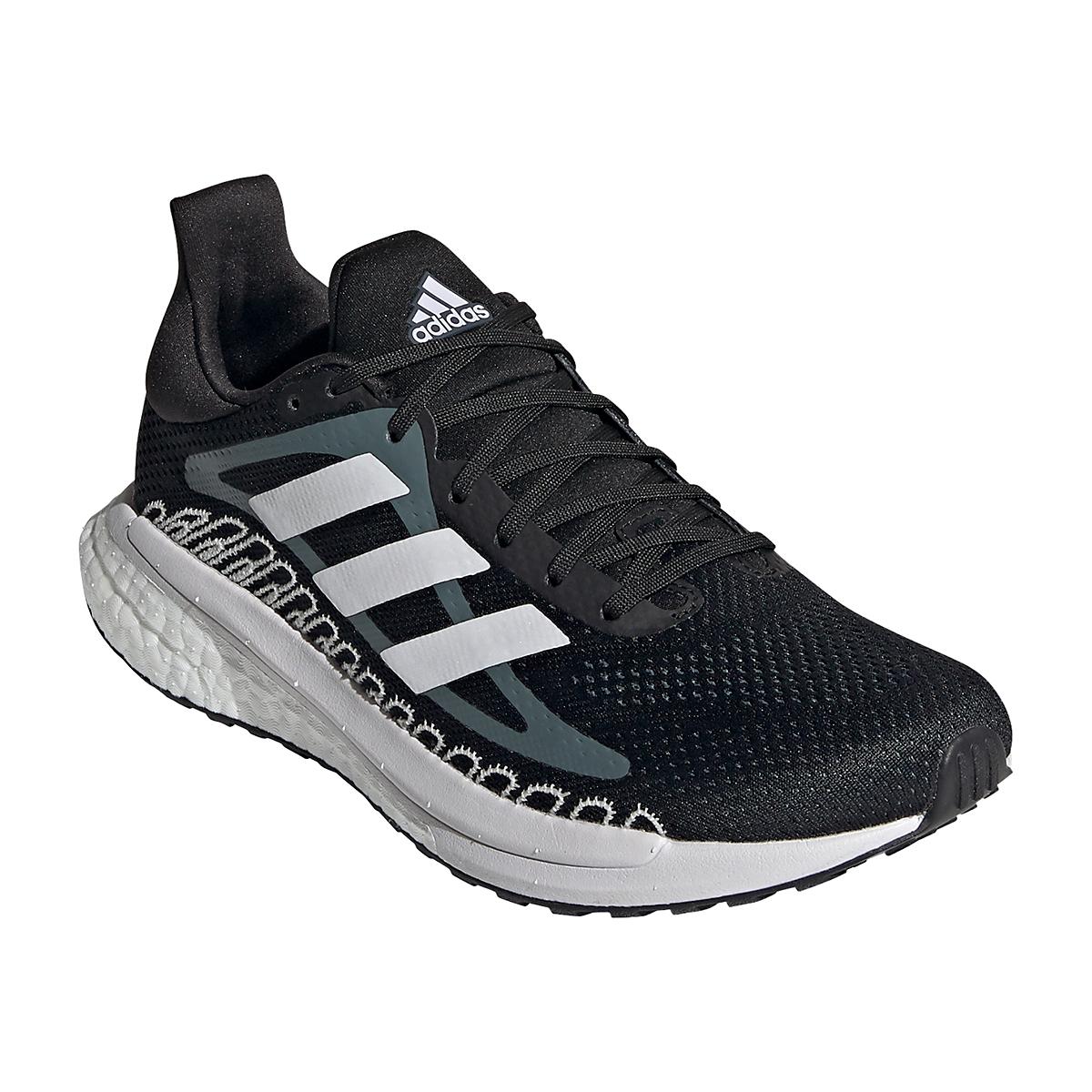Women's Adidas Solar Glide ST 3 Running Shoe - Color: Core Black - Size: 5 - Width: Regular, Core Black, large, image 3