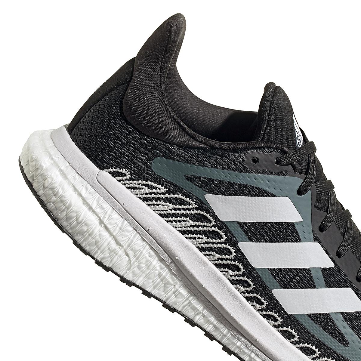 Women's Adidas Solar Glide ST 3 Running Shoe - Color: Core Black - Size: 5 - Width: Regular, Core Black, large, image 4