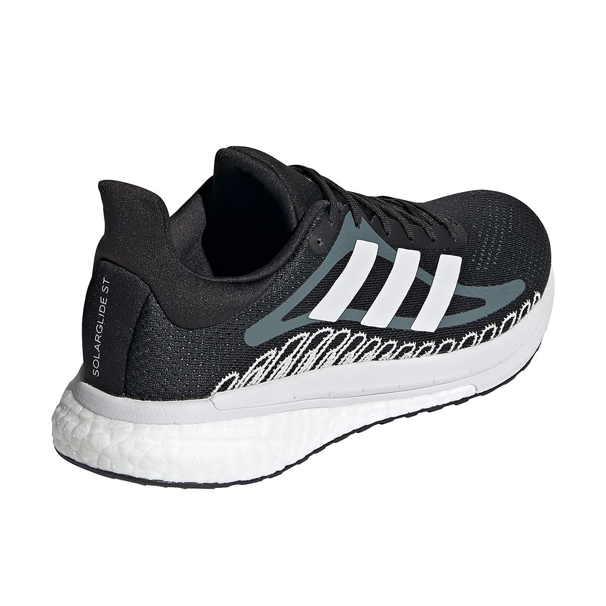 Women's Adidas Solar Glide ST 3 Running Shoe - Color: Core Black - Size: 5 - Width: Regular, Core Black, large, image 5
